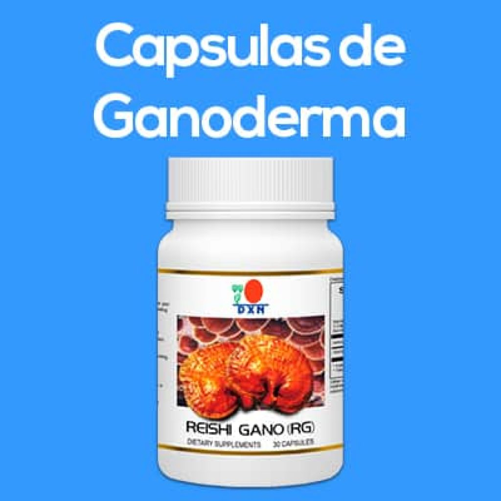 capsulas de extracto de ganoderma