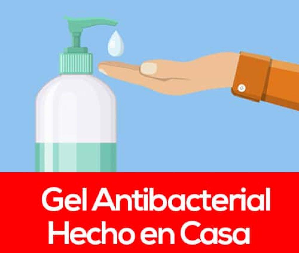 como hacer gel antibacterial casero